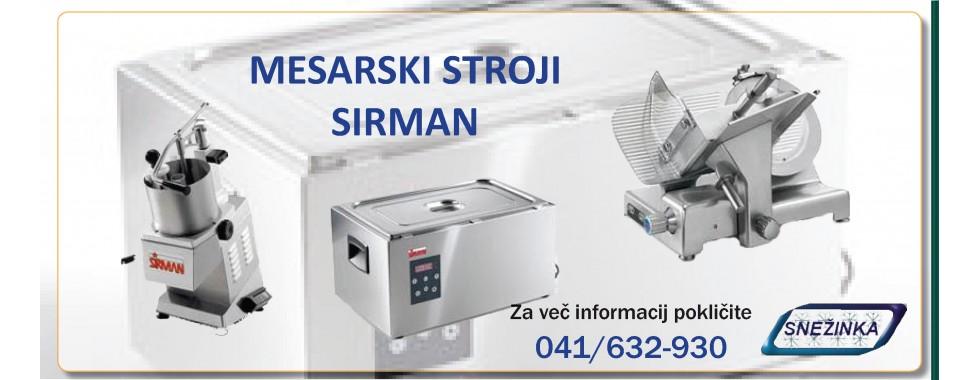 Mesarski stroji Sirman