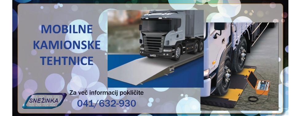 Mobilne kamionske tehtnice